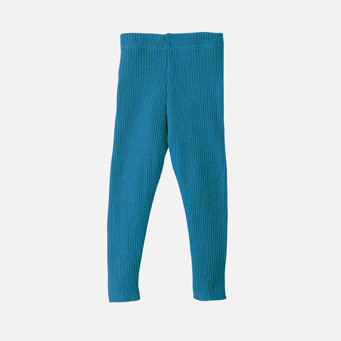 Organic Merino Leggings/Trousers - Teal - 0m-10y