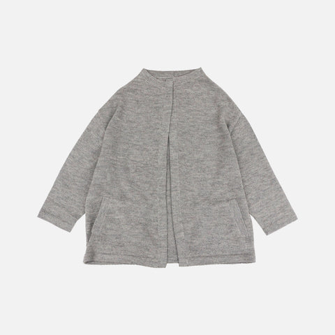 Women's Alpaca Iona Cardigan - Dove - EU36 (UK10) - EU42 (UK16)