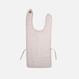Organic Cotton Muslin/Terry Feeding Bib - Mauve