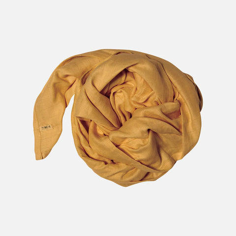 Organic Cotton Swaddle - Ochre