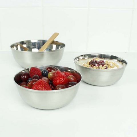 Stainless Steel Round Baby Bowl