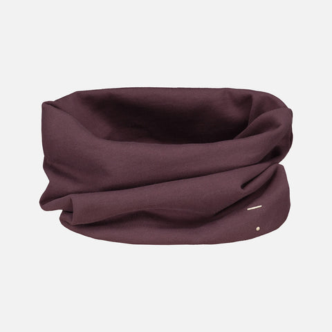 Organic Endless Scarf - Plum - One Size