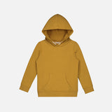 Organic Cotton Classic Hooded Sweater - Mustard - 1-10y