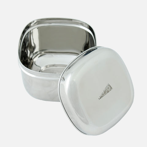 Stainless Steel Deep Square Container