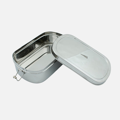 Stainless Steel Extra Large Oval Lunch Box