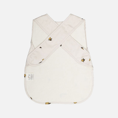 Organic Cotton Comea Big Bib - Lemon