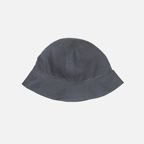 Cotton Sun Hat - Charcoal - 6-12m