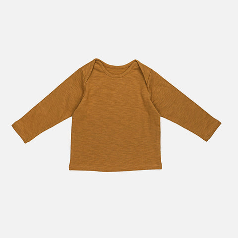 Organic Cotton US-Tee - Ochre - 6m-2y