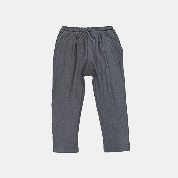 Cotton Kumar Jersey Trousers - Charcoal - 3-10y