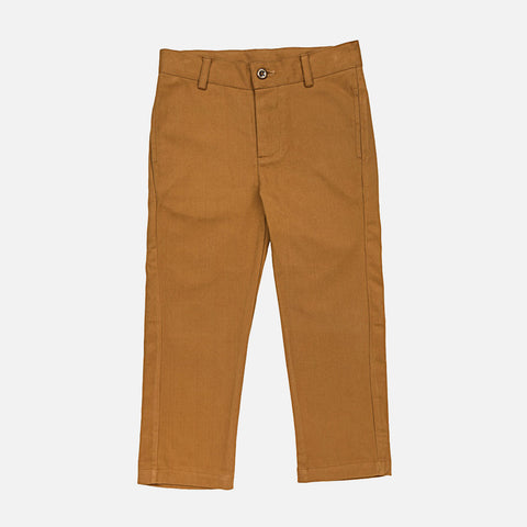 Cotton Corduroy Leo Trousers - Ochre - 3-10y