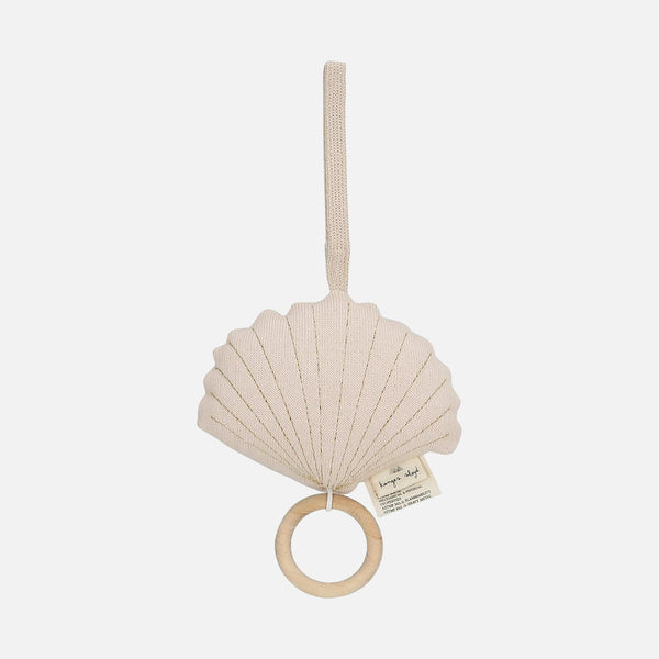 Cotton Clam Music Box - Light Rose