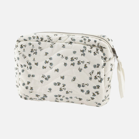 Organic Cotton Cita Mummy Makeup Bag - Petit Fleur