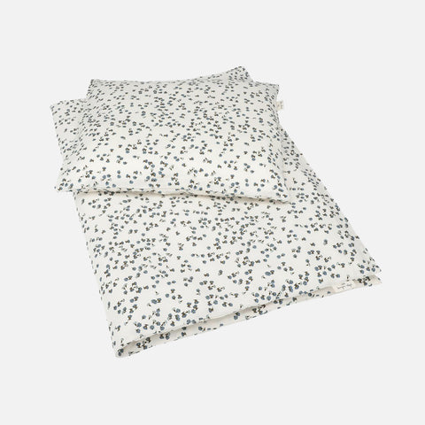 Organic Cotton Duvet & Cushion Cover - Petit Fleur - Junior Size