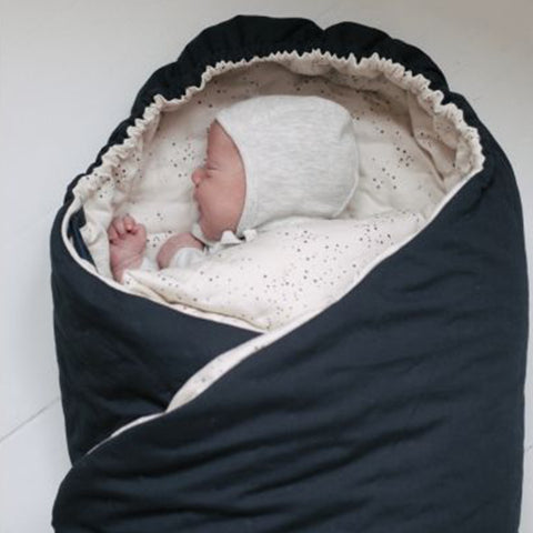 Organic Nemuri Sleeping Bag / Cosy Toes / Play Blanket for Prams / Puschairs