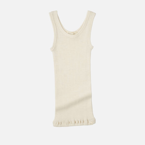 Merino Arendal Tank Top - Off White - 2-10y