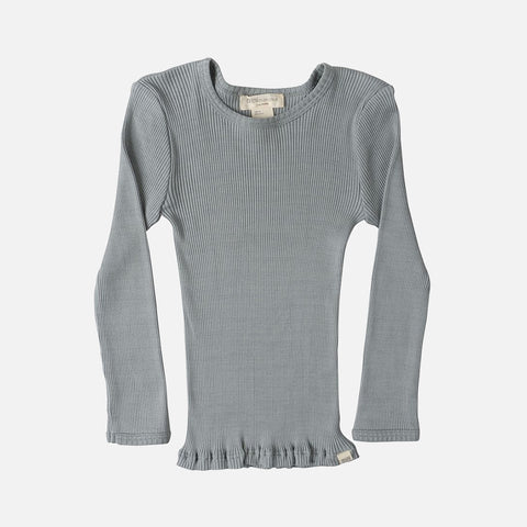 398693889e Sold out Silk Cotton Bergen LS Rib Top - Stone - 2-10y ...