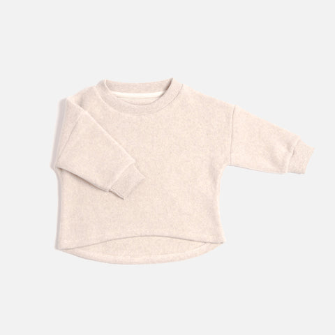 Organic Cotton Sweater - Nude - 1-8y