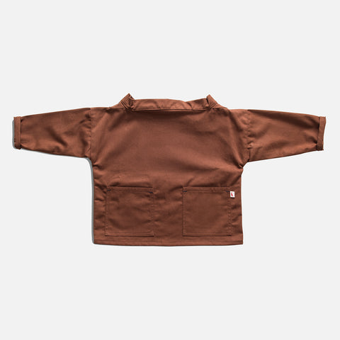 Cotton Seafarer Smock - Chestnut