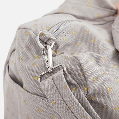 Cotton Easy Weekend Changing Bag - Gold Star