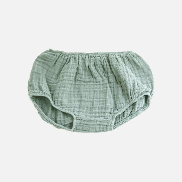 Cotton Muslin Eliotte Bloomers - Cool - 3m-3y