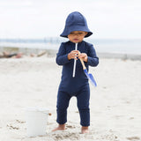 Lou Star UV Swim Bodysuit - Navy - 0-3y
