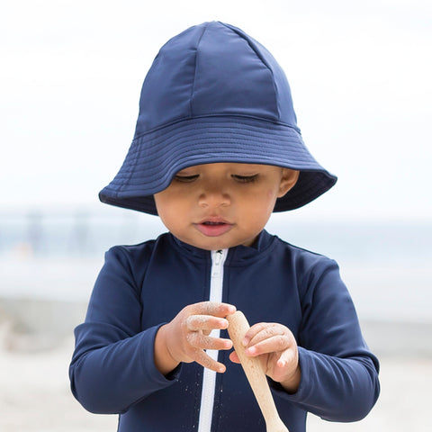 Freya UV Protection Sun Hat - Navy - 0-8y
