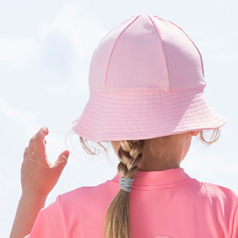 Freya UV Protection Sun Hat - Rose - 0-8y