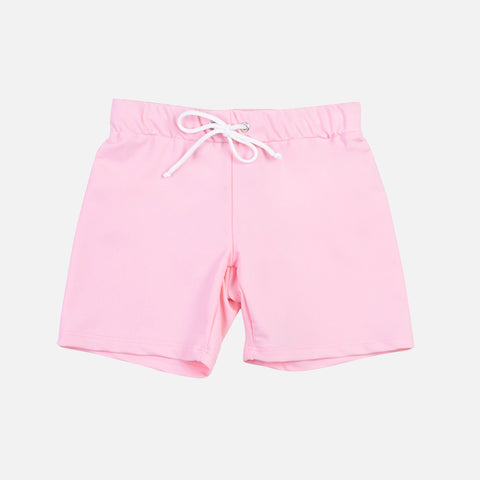 Alex Short Swim Shorts - Rose - 2-10y