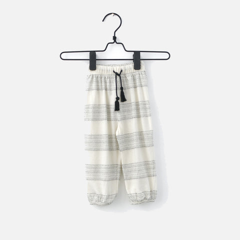 Cotton Freckled Tassel Pants - Jacquard - 3m-6y