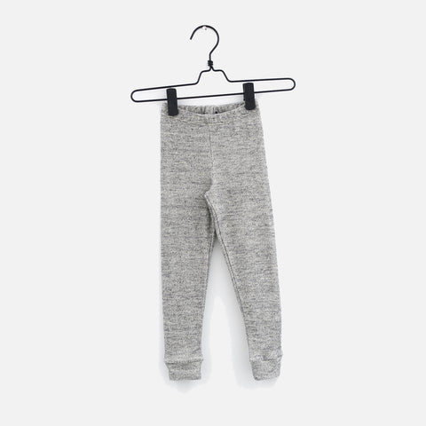 Organic Cotton Speckles Leggings - Jacquard - 3m-6y