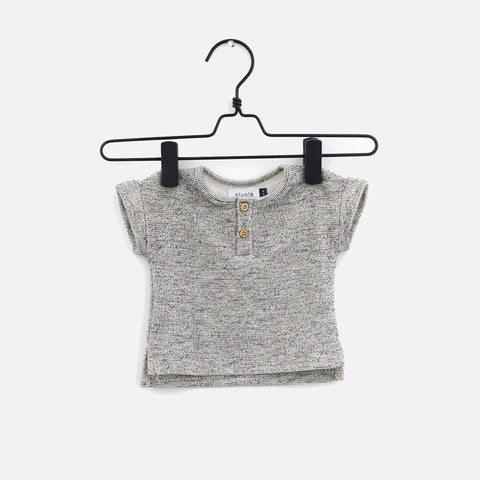 Organic Cotton Speckles Tee - Jacquard - 3m-6y