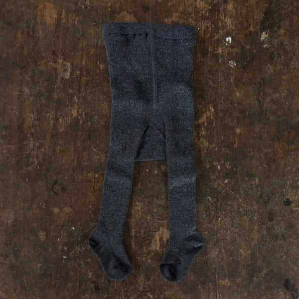 Fine Merino Wool/Cotton Baby Tights - Space - 2-24m