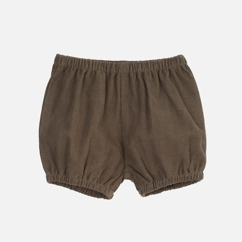 Organic Cotton Corduroy Baby Bloomers - Capers