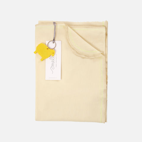 Merino Bleat Swaddle - Misty Rose