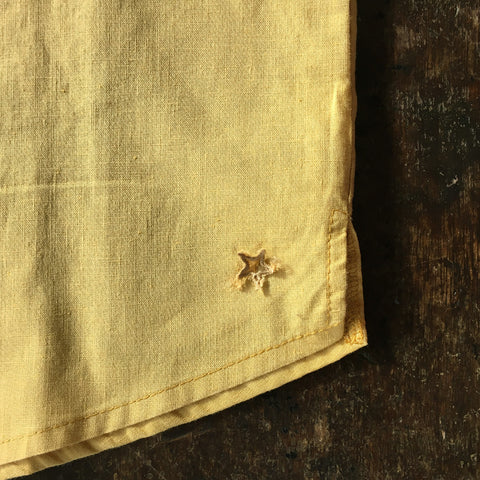 Cotton/Linen Shirt - Mustard - 10y