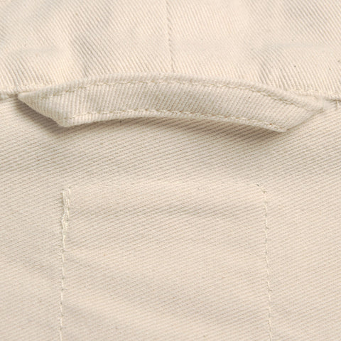 Adult Cotton Twill Classic Smock - Natural