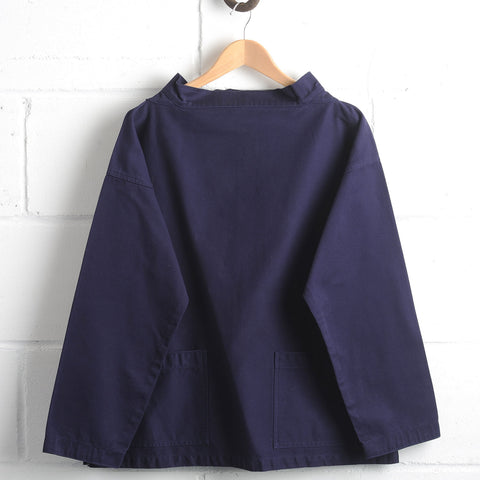 Adult Cotton Twill Classic Smock - Navy