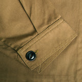 Adult Cotton Twill Driver's Jacket - Khaki