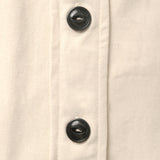 Adult Cotton Twill Worker Shirt - Natural