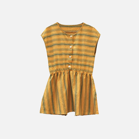Cotton Annie Short Romper - Melon - 2-10y