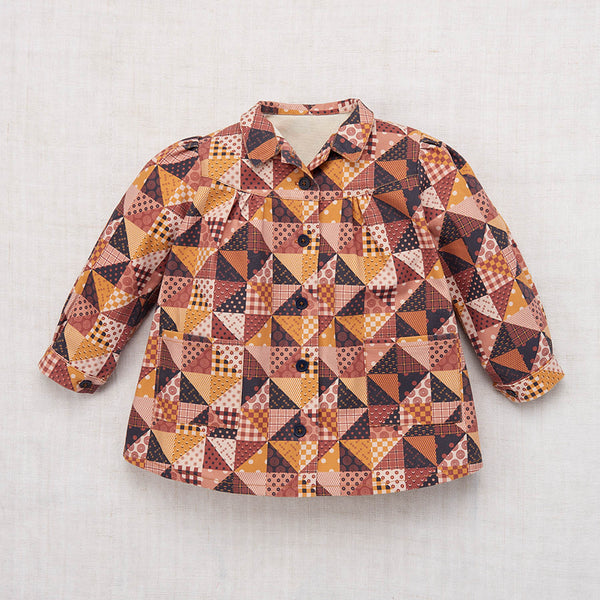 Cotton Artist Smock - Patchwork - 2-8y