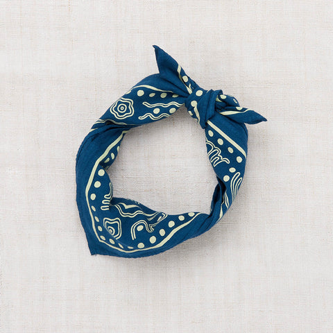 Cotton Bandana - Cobalt - One Size