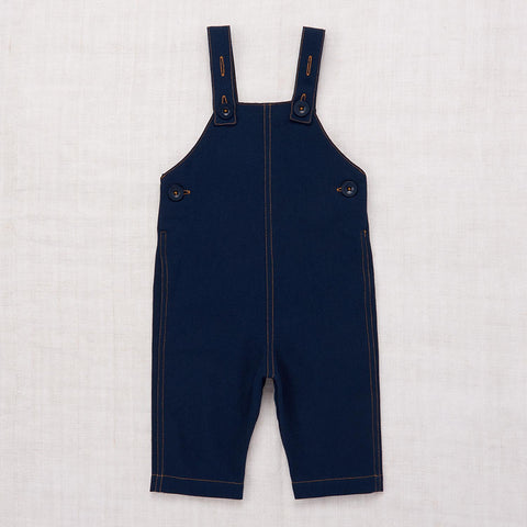 Cotton Baby Overall - Navy - 12-24m