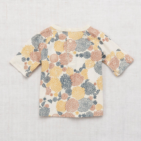Cotton Raglan Tee - Chrysanthemum - 18m-7y