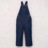 Organic Raw Denim Kids Overall - Indigo - 1-8y