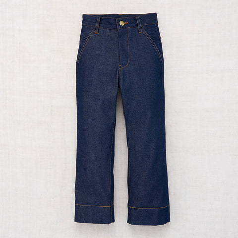Organic Raw Denim One Pocket Jean - Indigo - 2-8y