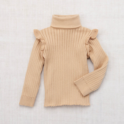 Cotton Ida Turtleneck - Alabaster