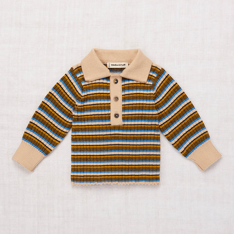Cotton Orion Henley - Alabaster - 2-8y