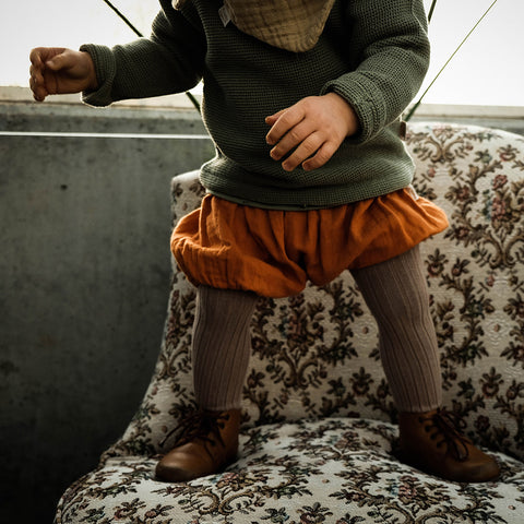 Organic Cotton Bloomers - Marmalade