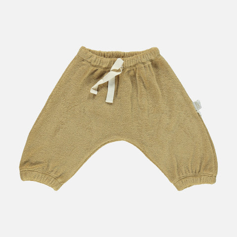 Organic Cotton Terry Cannelle Baggy Pants - Starfish